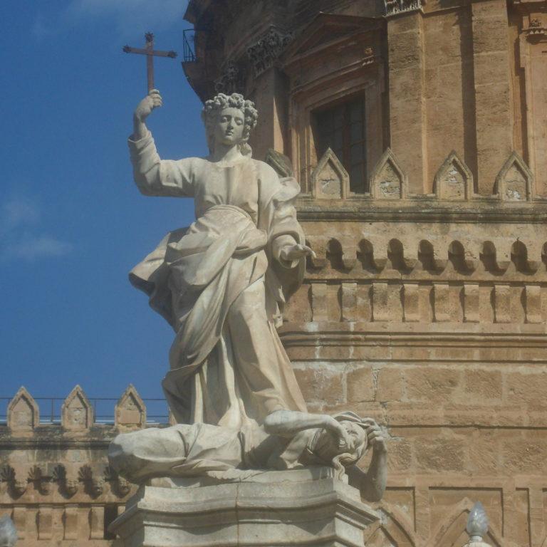 Palermo Santa Rosalia Piano della Cattedrale