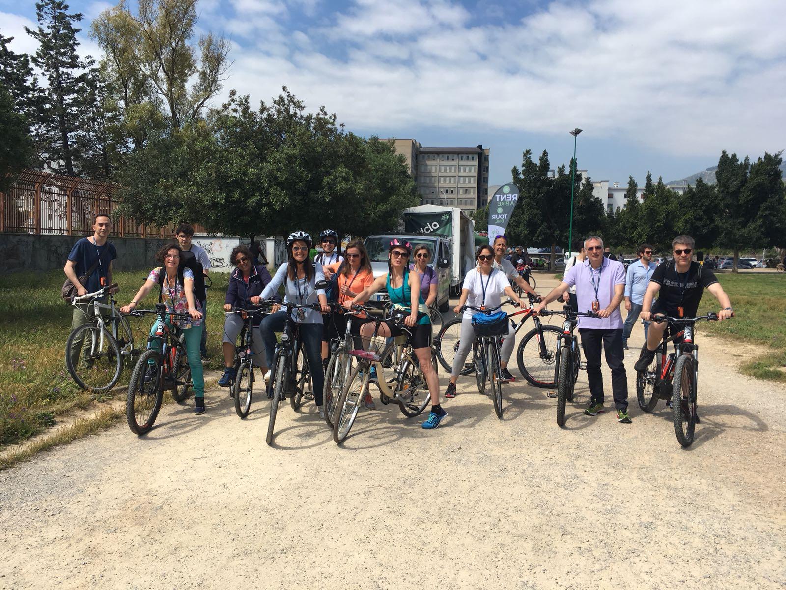 Bici Tour guidato del Parco della Favorita